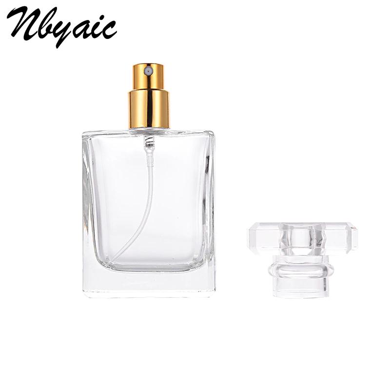 Стеклянный парфюмерный флакон с распылителем 30 мл