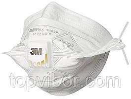 🔝 Распиратор маска 3м | полумаска с клапаном выдоха респиратор (FFP2) с доставкой по Киеву и Украине | 🎁%🚚