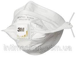 Распиратор маска 3м - полумаска с клапаном выдоха респиратор 3М (VFlex 9162 FFP2) с доставкой по Украине (TI)