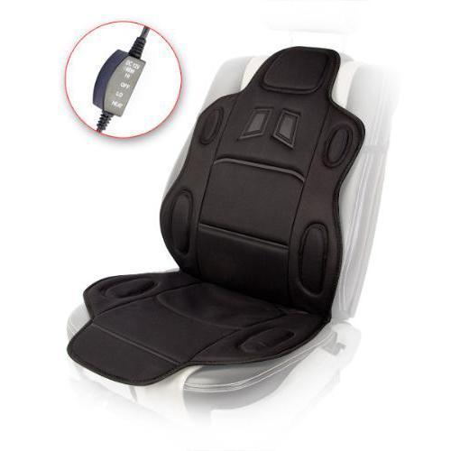 Накидка на сидение с подогревом с переключателем автомобильный чехол ПОДАРОК (115x49см)