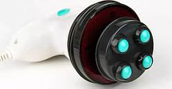 Инфракрасный ручной массажер SUNROZ Body Innovation Sculptural антицелюлитный для тела Бело-Бирюзовый