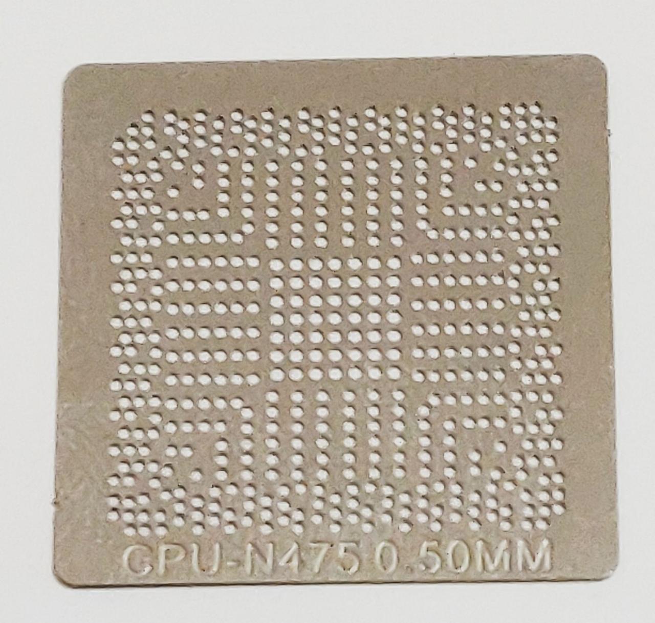 Трафарет BGA Intel ATOM N475, Q4KT, SLBX5, D510