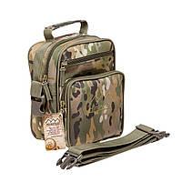 Тактическая военная сумка Hinterhölt Jab (Хинтерхёльт Джеб) плечевая на ремне Хаки Мультикам, фото 1