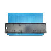 Універсальний вимірювач контуру SUNROZ контурна лінійка 14 см Синій (5652), фото 1