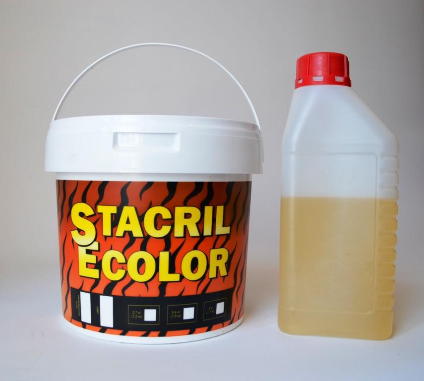 Наливний рідкий акрил STACRIL Ecolor для реставрації ванн 1,5 (SUN4414)