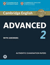 Cambridge English: Advanced 2 Student's Book with answers and Downloadable Audio / Книга с аудио