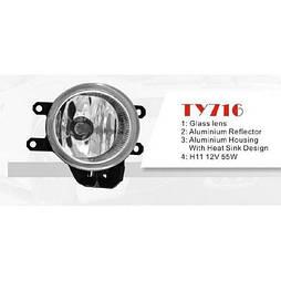 Фары доп.модель Toyota Previa/Corolla/Camry/Rav/Yaris/Avensis/TY-716-W/H11-55W (TY-716-W)