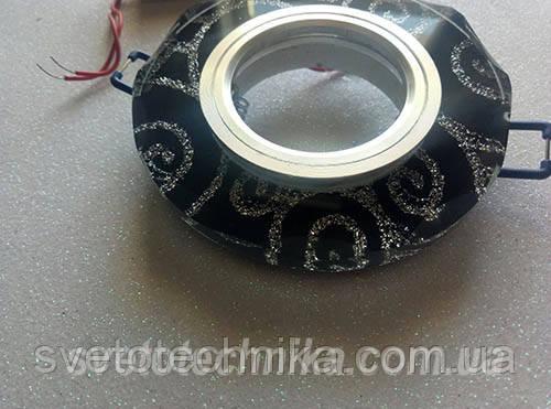 Встраиваемый  светильник 6012 MR16 с LED подсветкой