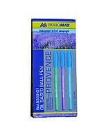 Набор масляных ручек 12 шт Buromax  Provence BM.8359-01 Ручка Синий 0.5 мм Корпус Ассорти (6505)