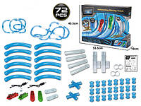 Игровой набор CHARIOTS Speed Pipes Гоночный трек по водопроводных трубах на р/у, 72 дет., фото 1