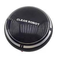 Міні робот-пилосос SUNROZ Sweep Robot 500mAh Чорний