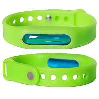 Антимоскитное средство SUNROZ Силиконовый антимоскитный браслет, Зеленый