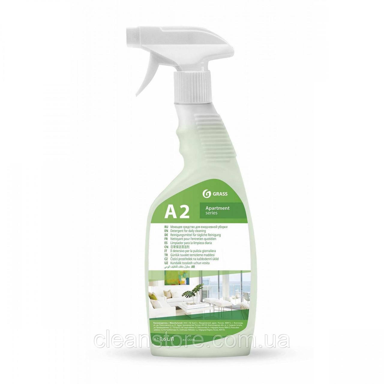 """Моющее средство для ежедневной уборки """"Apartament series А2"""", флакон 600 мл"""