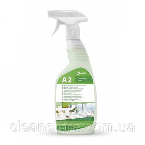 "Моющее средство для ежедневной уборки ""Apartament series А2"", флакон 600 мл, фото 2"