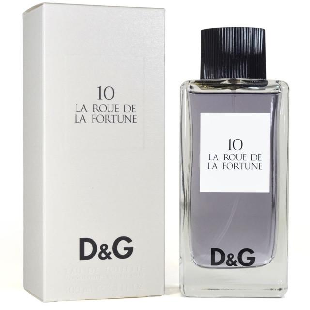 Dolce & Gabbana 10 La Roue De La Fortune туалетная вода 100 ml. (Дольче Габбана № 10 Ля Роуе Де Ля Фортуна)