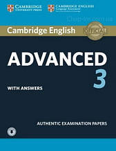 Cambridge English: Advanced 3 Student's Book with answers and Downloadable Audio / Книга с аудио