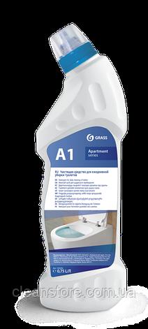 "Моющее средство для ежедневной уборки туалетов ""Apartament series А1"", флакон 750 мл, фото 2"