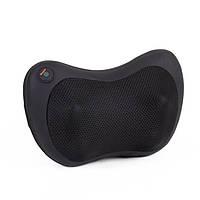 Массажер SUNROZ Neck Massager массажная подушка для области шеи и головы, Черный