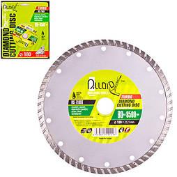 Alloid. Диск алмазный отрезной Turbo 180 мм (DS-7180T)