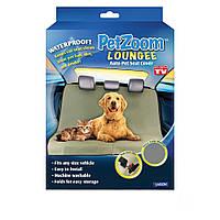 Накидка на сиденье автомобиля SUNROZ  Pet Zoom Loungee для перевозки животных Серый