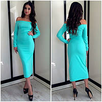 Платье миди ниже колена