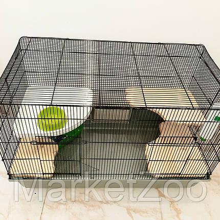 Клетка для кролика,крыски,белки летяги,белки дегу,шиншиллы.Размер 100×65×55, фото 2