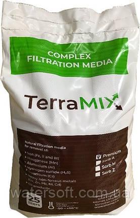 TerraMIX Premium - засыпка для удаления железа и марганца, 25 литров / 11,75 кг, фото 2