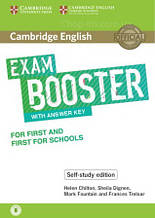 Cambridge English Exam Booster for First and First for Schools Self-Study Edition with Answer Key / Книга