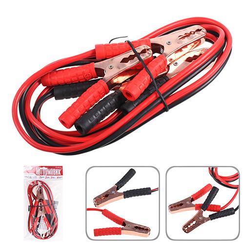 Провода пусковые Штурмовик 150А  2,0м Провода прикуривания крокодилы