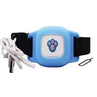 GPS трекер для собак FUTUREWAY FP03 Влагостойкий GPS ошейник для собак Синий