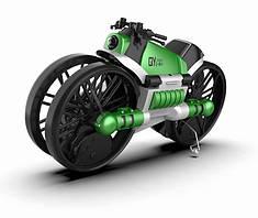 Квадрокоптер дрон-трансформер QY Leap Speed PRO мотоцикл на р/к 2 в 1 Зелений (5722)