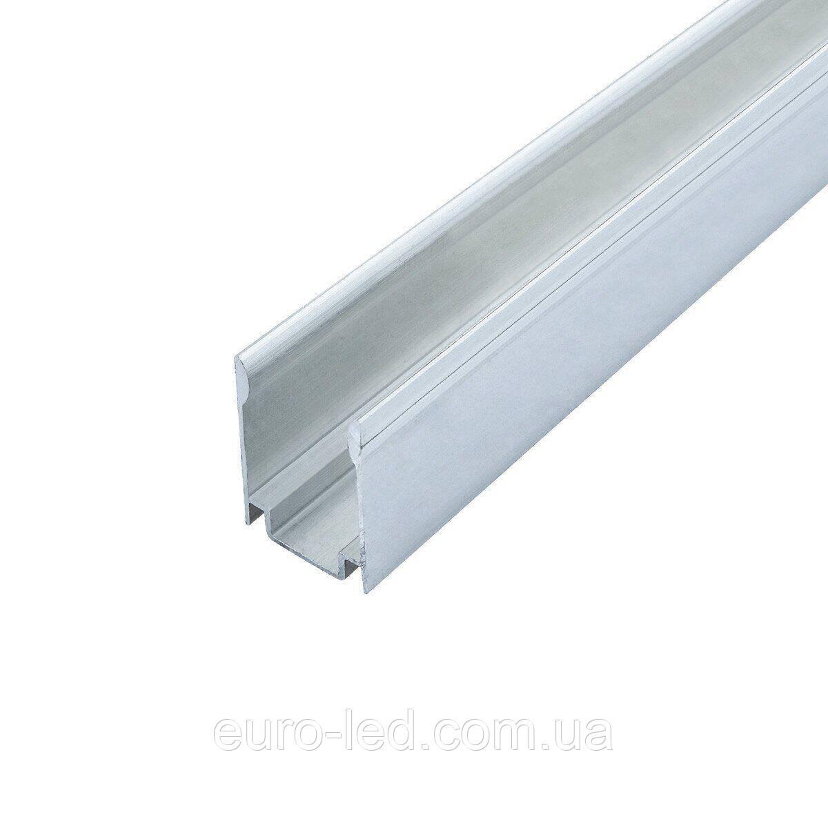 Профиль алюминиевый ПН-18 анод для крепления ленты NEON RGB, (палка 2м) м
