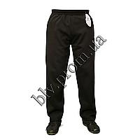 Теплые мужские брюки байка баталы KD343G Black