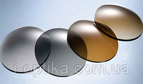 Полимерные линзы хамелеоны для очков, фото 2