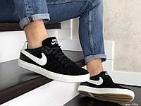 Кеди чоловічі Nike чорно білі