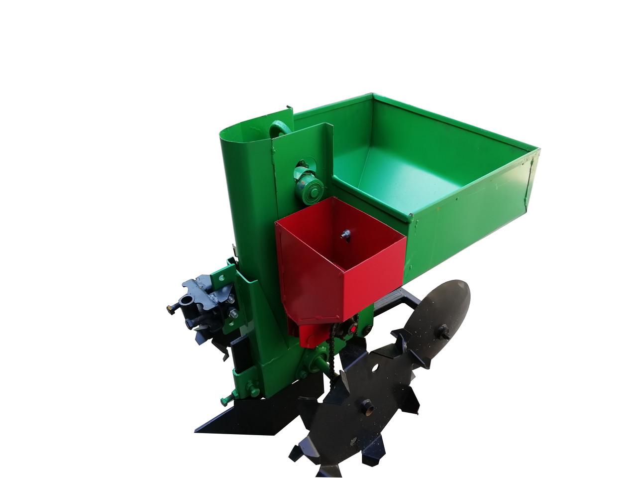 Картофелесажалка с бункером для удобрений КСН-1М