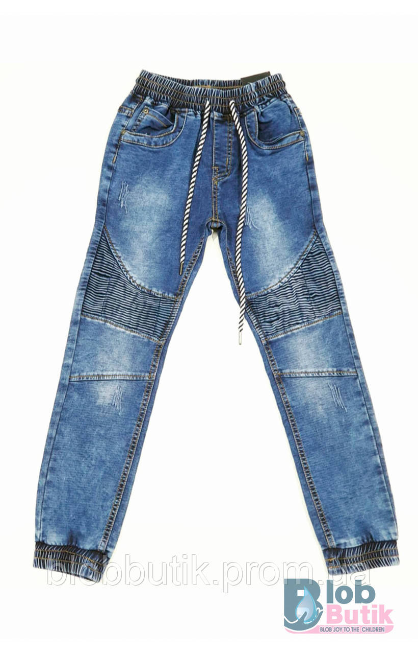 Дитячі джинси блакитні SEAGULL для хлопчика.