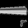 Декоративный карниз GP22, длина 2м, Glanzepol