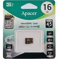 Micro SD 16Gb [Apacer] class 10   (без адаптера)