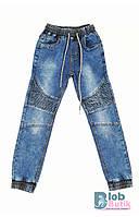 Детские джинсы голубые SEAGULL для мальчика. 140