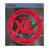 D'Addario EPS230 ProSteels Heavy Electric Bass Strings 55/110