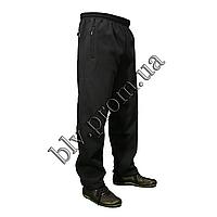 Теплые мужские брюки байка баталы KD343G Dark blue