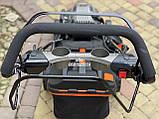 Газонокосилка бензиновая Grunhelm S461 LUX (Самоходная с электростартом), фото 4