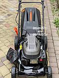 Газонокосилка бензиновая Grunhelm S461 LUX (Самоходная с электростартом), фото 3