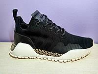 Мужские  кроссовки в стиле Adidas AF Primeknit Atric Black White