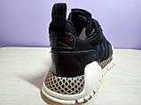 Мужские  кроссовки в стиле Adidas AF Primeknit Atric Black White, фото 6