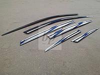 Дефлекторы окон (ветровики) Hyundai santa fe III (хюндай санта фе) 2012+