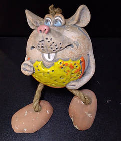 "Копілка гіпсова ""Мишка з сиром"", Копилка ""Мишка с сыром"""