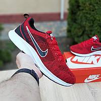 N1ke Zoom  красные найк зум кроссовки мужские кросовки