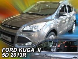 Дефлектори вікон (вітровики) Ford KUGA II 5D 2012R-> 4шт (Heko)